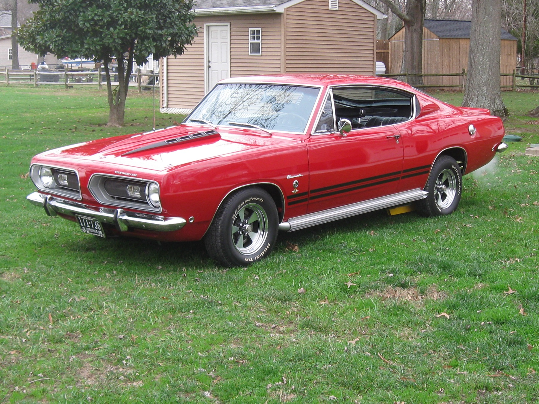 1968 plymouth barracuda remains in the same family. Black Bedroom Furniture Sets. Home Design Ideas