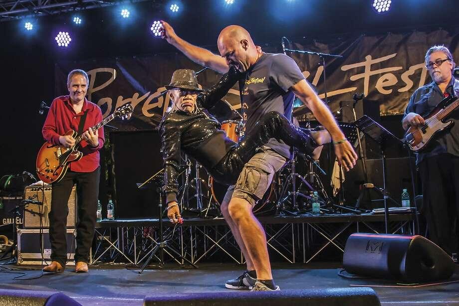 Sugar Pie DeSanto onstage at the Porretta Soul Festival in Porretta Terme, Italy, in July 2015. Photo: Gianni Grandi