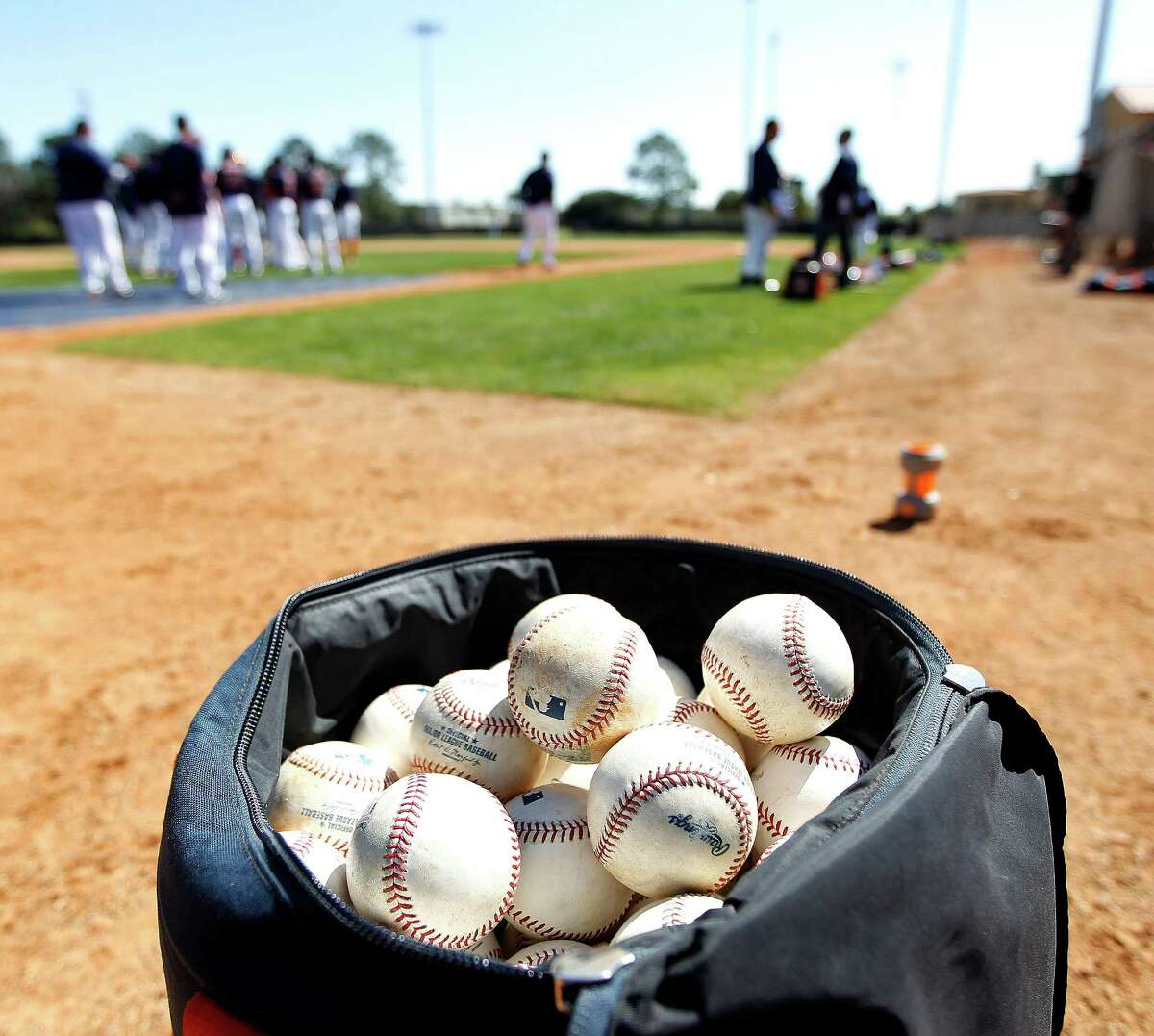 An Astros player tested positive for COVID-19 at the club's spring training facility.