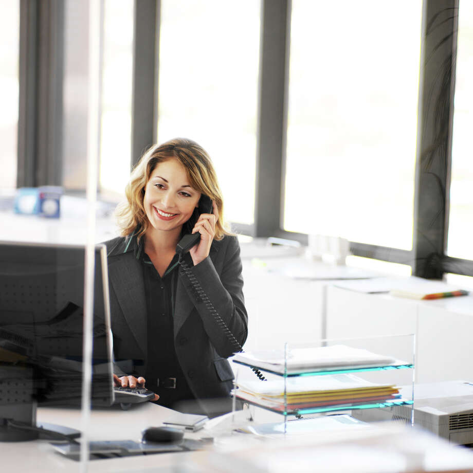 Office management professionals direct and coordinate supportive services of an organization. / (c) Stockbyte