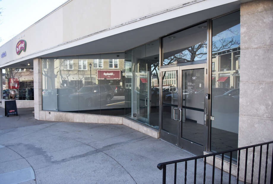 Tesla has signed a lease for the location at 340 Greenwich Avenue. But whether a gallery, not a dealership, can be opened there is still open to discussion. Photo: Tyler Sizemore / Hearst Connecticut Media / Greenwich Time