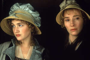 """Columbia Pictures Kate Winslet, left, and Emma Thompson in """"Sense and Sensibility."""""""