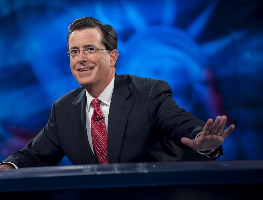 """Stephen Colbert on The Late Show challenged Donald Trump to make a full disclosure after Saturday debate boast about his penis size. """"So I'm calling on you to release the long form. Or the short form, no judgment."""" Photo: Scott Gries, Scott Gries/Picturegroup"""