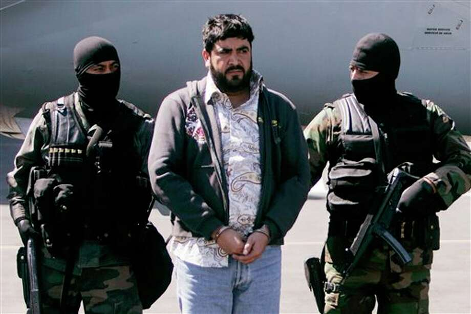 "Alfredo Beltran Leyva, known as ""El Mochomo"", is the accused leader of a Mexican drug trafficking cartel who authorities say once maintained close ties to Joaquin ""El Chapo"" Guzman. He pleaded guilty in federal court in Washington on Feb. 23, 2016, admitting that he helped ship tons of cocaine from South America to the United States. Photo: Eduardo Verdugo, Ap"
