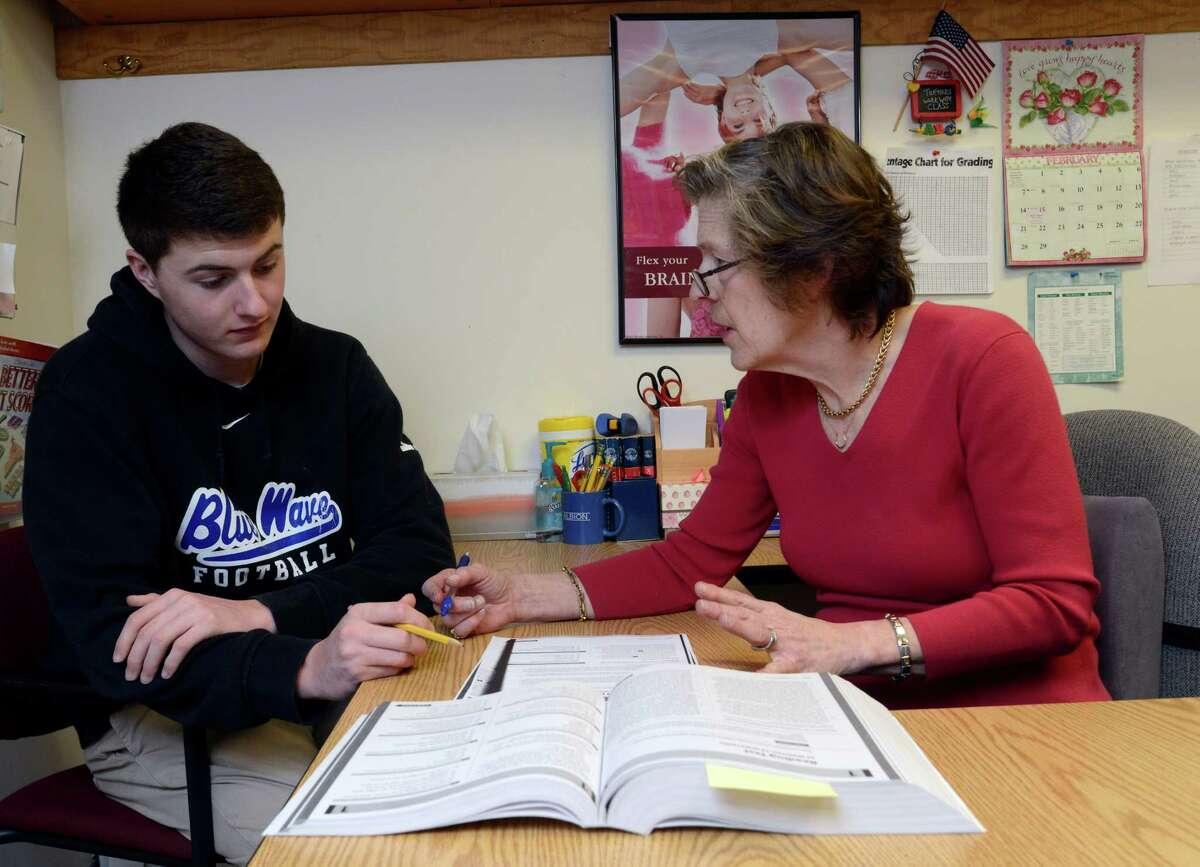 Darien High School ELA average score: 627 Math average score: 633 Source:EdSight