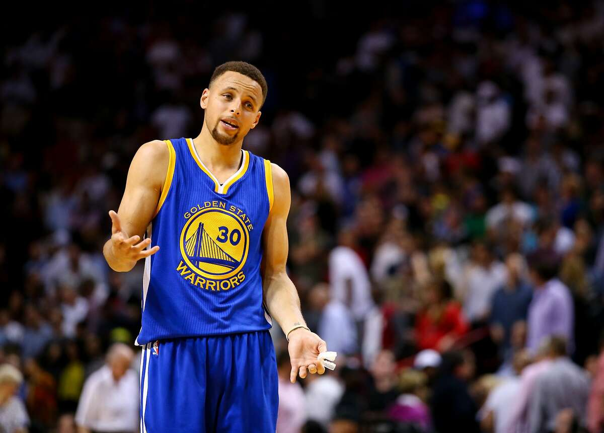 Steph Curry won't stop dominating the league until he's ruined basketball forever. Apparently.