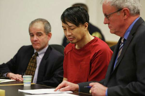 Dr. Louis Chao Chen pleaded guilty Thursday, Feb. 25, 2016 at the King County Courthouse, to first-degree murder in his toddler son's death and second-degree murder in his partner's death.