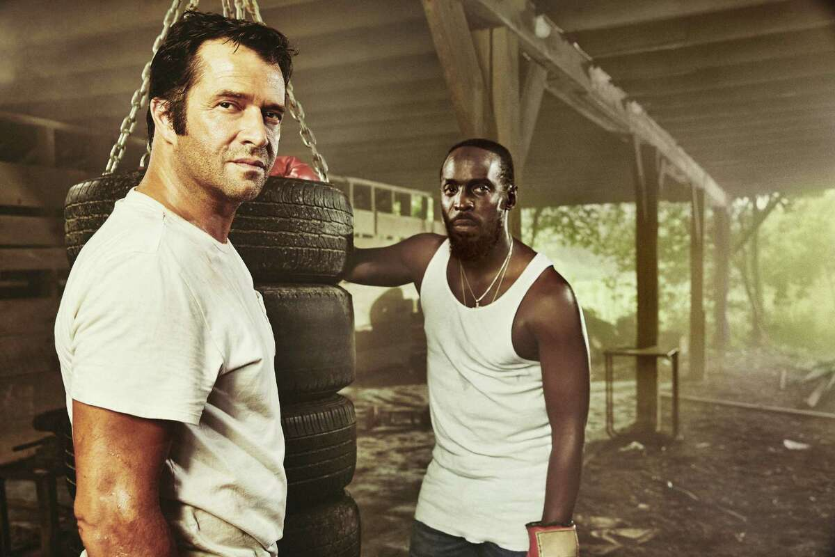 James Purefoy and Michael K. Williams play surly-but-devoted pals in 'Hap and Leonard,' a new Texas-set comedic drama on SundanceTV.