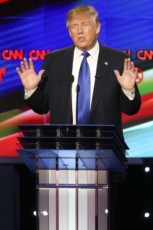"No. 5: Donald Trump - ""inversion"" Photo: Gary Coronado, Houston Chronicle"