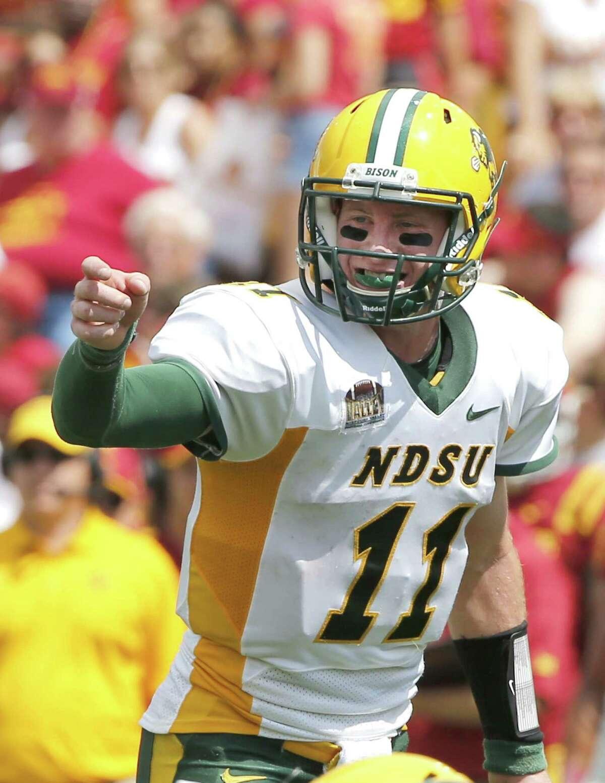2. Browns McClain:Carson Wentz, QB, North Dakota State Wilson:Carson Wentz, QB, North Dakota State