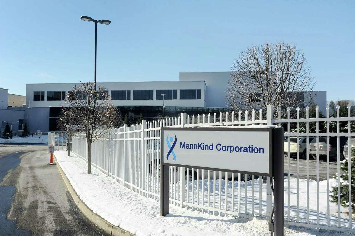 MannKind Corp.'s facility at 1 Casper St. in Danbury.
