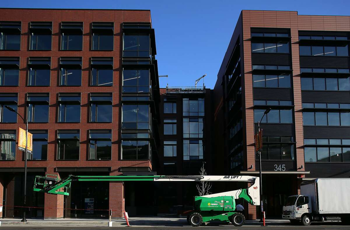 A view of 333 Brannan St.(left) and 345 Brannan St. (right) in San Francisco, California, on Thursday, February 25, 2016.