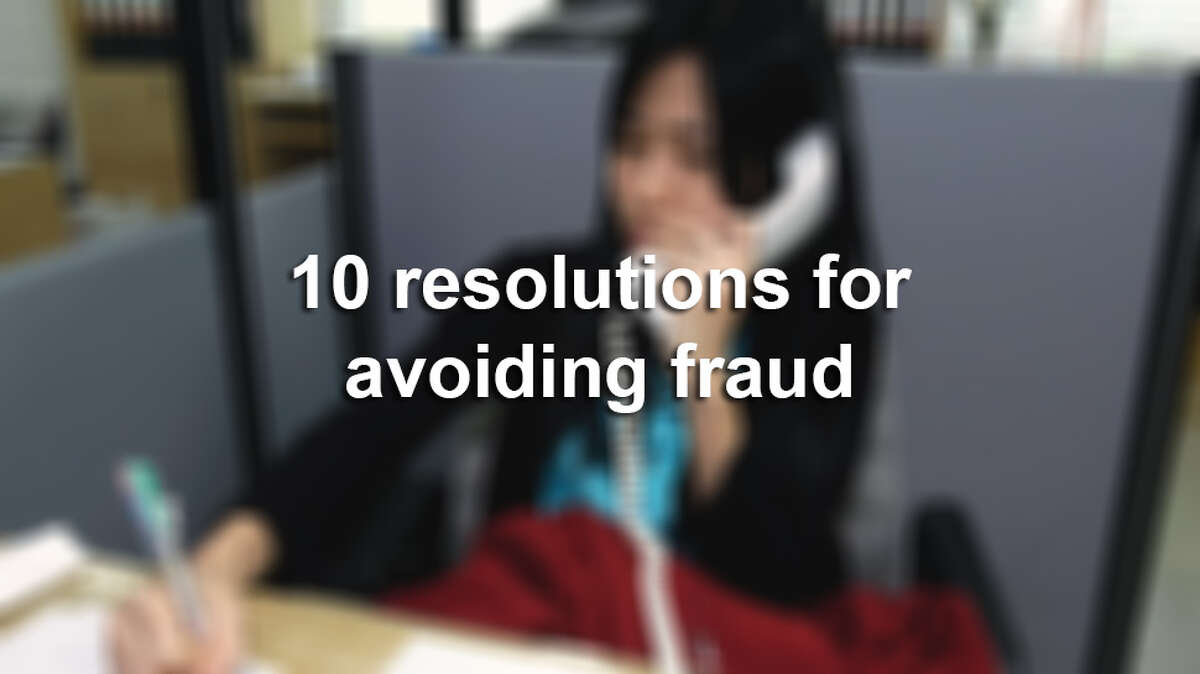 Click through the slideshow to learn ten ways to avoid fraud.