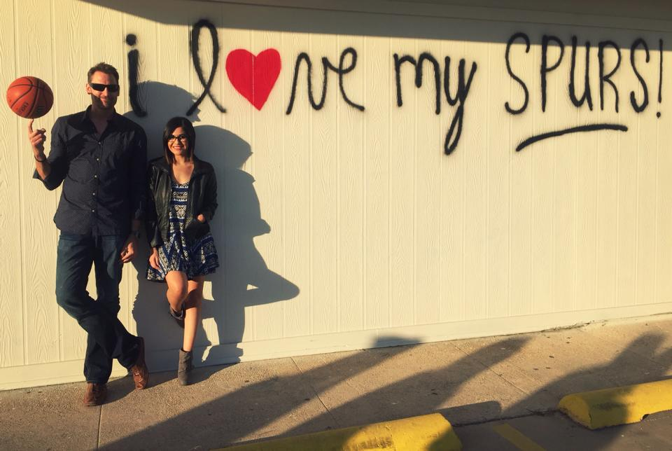 The newest Spurs-inspired wall in San Antonio is up and you're going to want to Instagram it