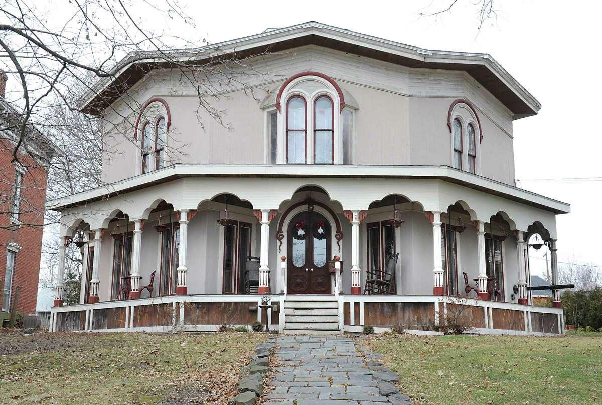 Octagon house at 651 Hudson Ave. on Friday, Feb. 5, 2016 in Stillwater, N.Y. (Lori Van Buren / Times Union)