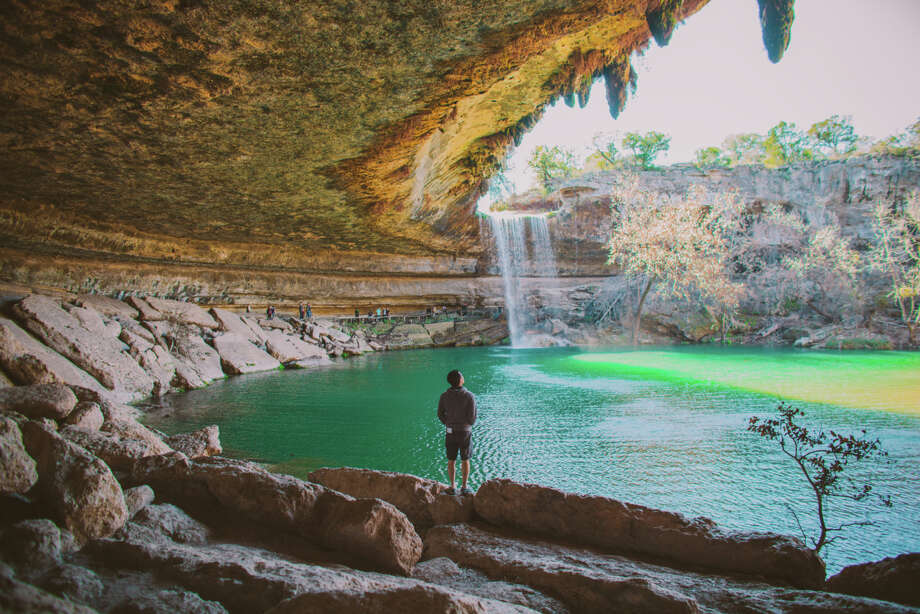 1. The water at Hamilton Pool is really cold with a temperature about 50 degrees in some spots. Click the gallery to learn more cool things about Hamilton Pool from Travis County Parks. Photo: Kristine T Pham Photography, Getty Images / Moment Open