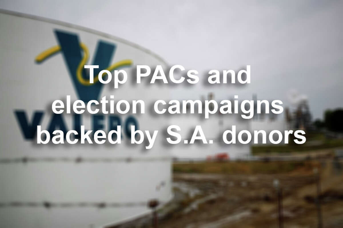 San Antonians have contributed more than $4 million dollars to election campaigns and political action campaigns (PACs) over the past two years, according to Express-News analysis of political donation data.