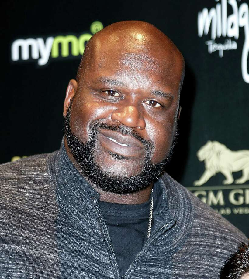 "Shaquille O'Neal arrives to the 13th annual ""Leather & Laces"" mega party during Super Bowl 50 week at Metreon on Feb. 6, 2016 in San Francisco. Photo: Randy Shropshire /Getty Images / 2016 Getty Images"