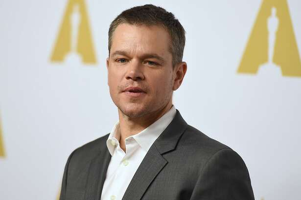 Matt Damon arrives at the 88th Academy Awards Nominees Luncheon at The Beverly Hilton hotel on Monday, Feb. 8, 2016, in Beverly Hills, Calif. (Photo by Jordan Strauss/Invision/AP)
