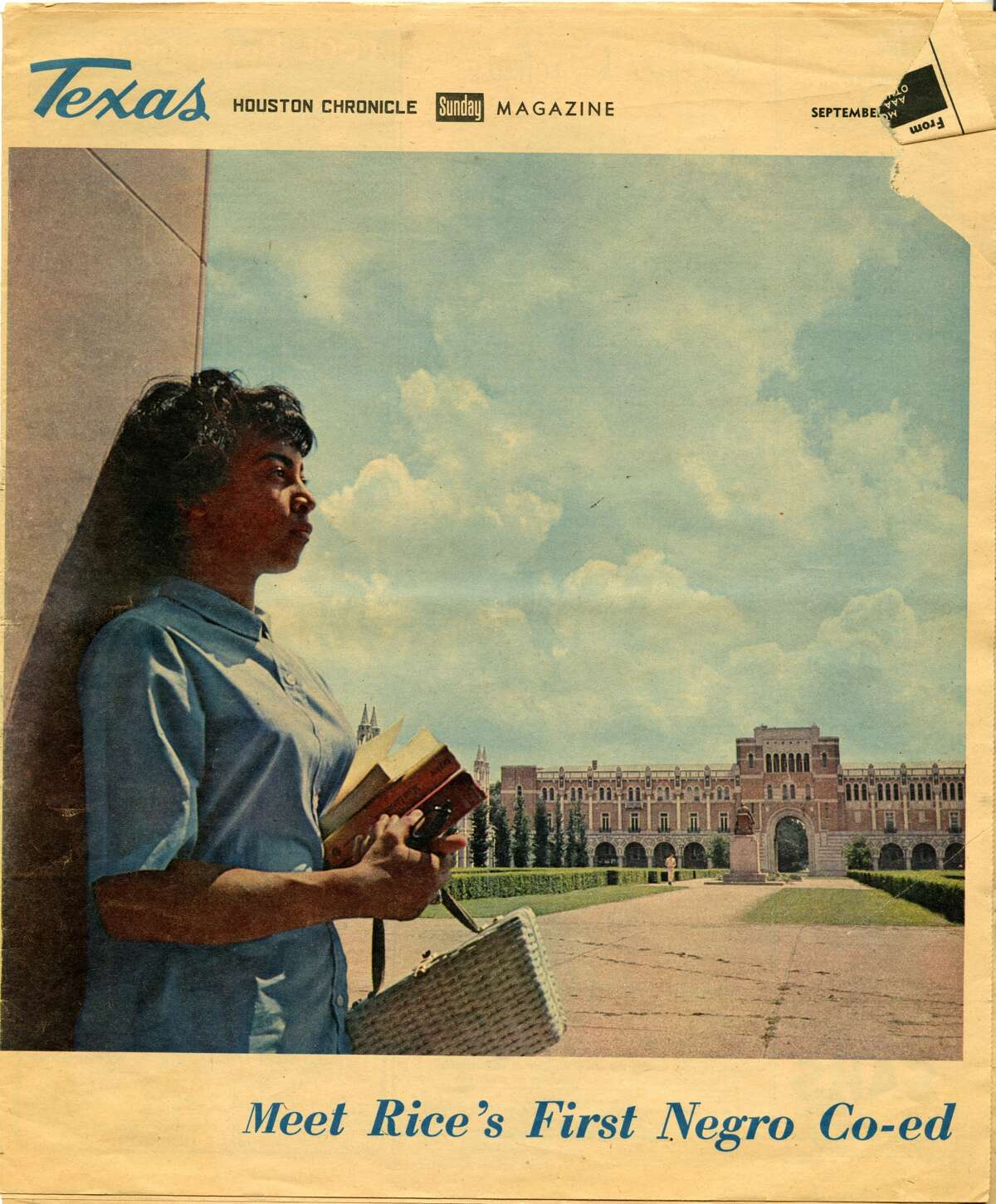 Jacqueline McCauley was the first black woman admitted to Rice University. She started school there in 1965, according to Rice archives.