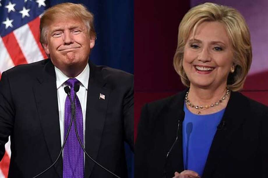 Donald Trump and Hillary Clinton Photo: Getty Images Composite