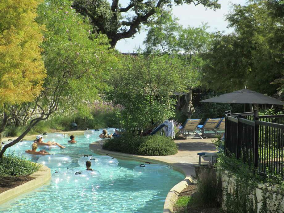 Kids of all ages can be found in inner tubes floating the lazy river at the JW Marriott San Antonio's River Bluff Water Experience, which is unveiling a $16.5 million expansion. Photo: Terry Scott Bertling