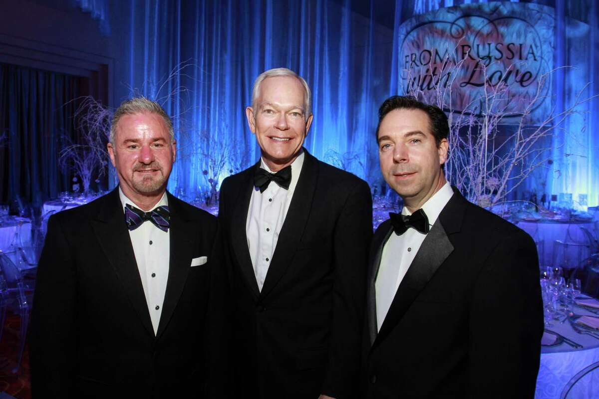 Terry Wayne Jones, from left, Jesse H. (Jay) Jones II and Jim Nelson