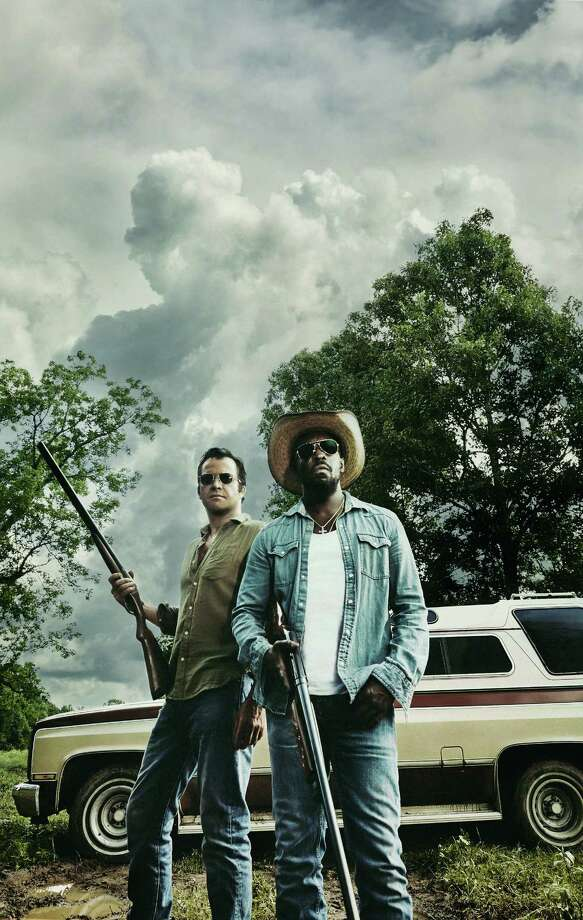 """James Purefoy, left, and Michael Kenneth Williams star in the new TV series """"Hap and Leonard,"""" based on novels by Joe Lansdale. Photo: James Minchin/Sundance Channel / © 2015 SundanceTV LLC. All Rights Reserved."""