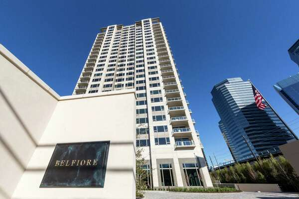 High rise haven for the super rich nears completion 1of 8the new 26 story luxury condo tower belfiore at 1275 s post oak lane a typical condo in the tower is 4650 square feet and are sold unfinished to reheart Choice Image