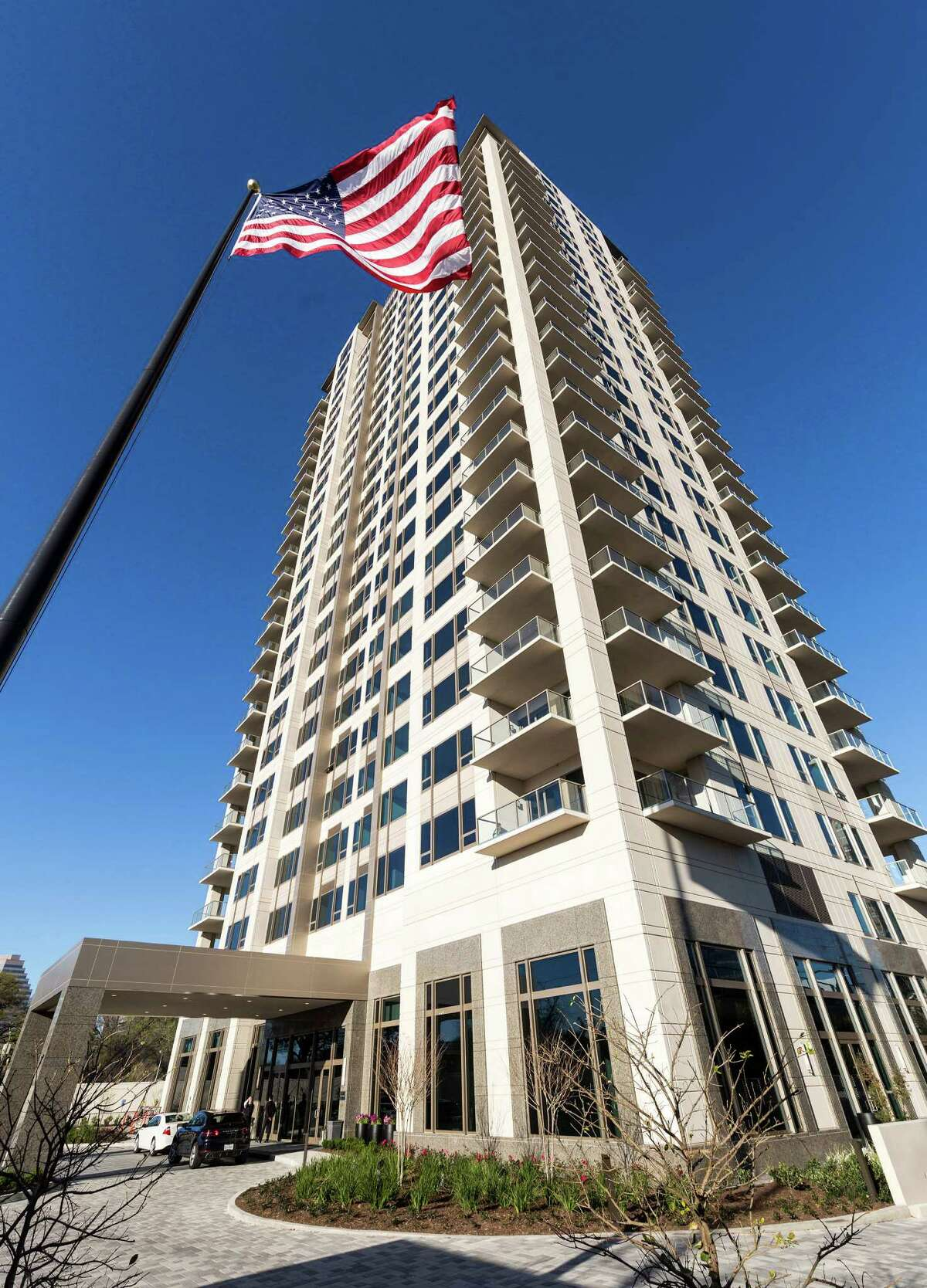 Most of the 46 units in the Belfiore are 4,650 square feet, but there are two 8,000-square-foot penthouses. The first residents are expected to move in to the Uptown tower at the end of March. T