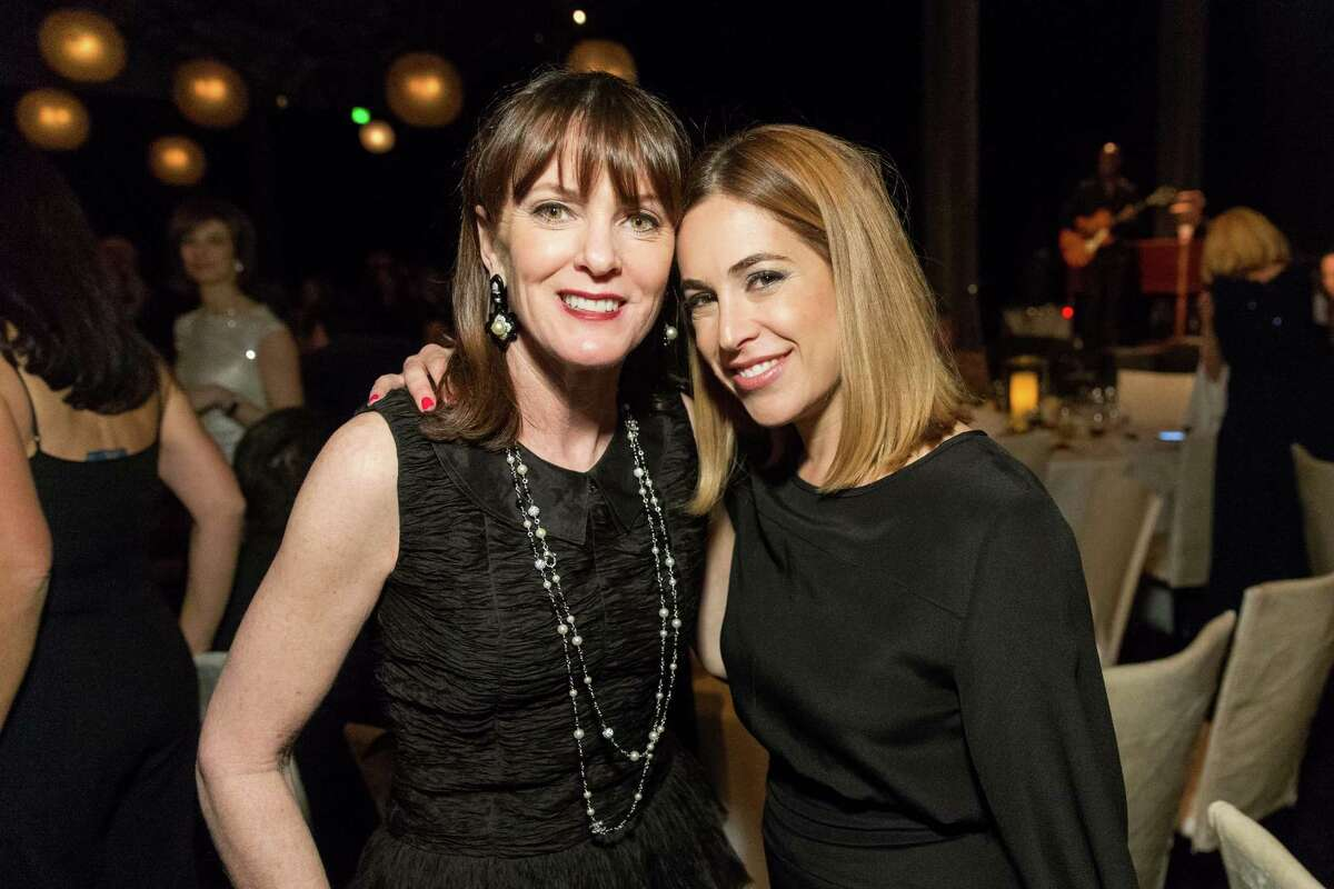 The CPMC 2020 Gala sponsored by CHANEL was held at Pier 35 on February 24. It raised $2.5 million for Sutter Health's CPMC and Clinical trials for food allergies at CPMC. Shown are Allison Speer and Alison Pincus.