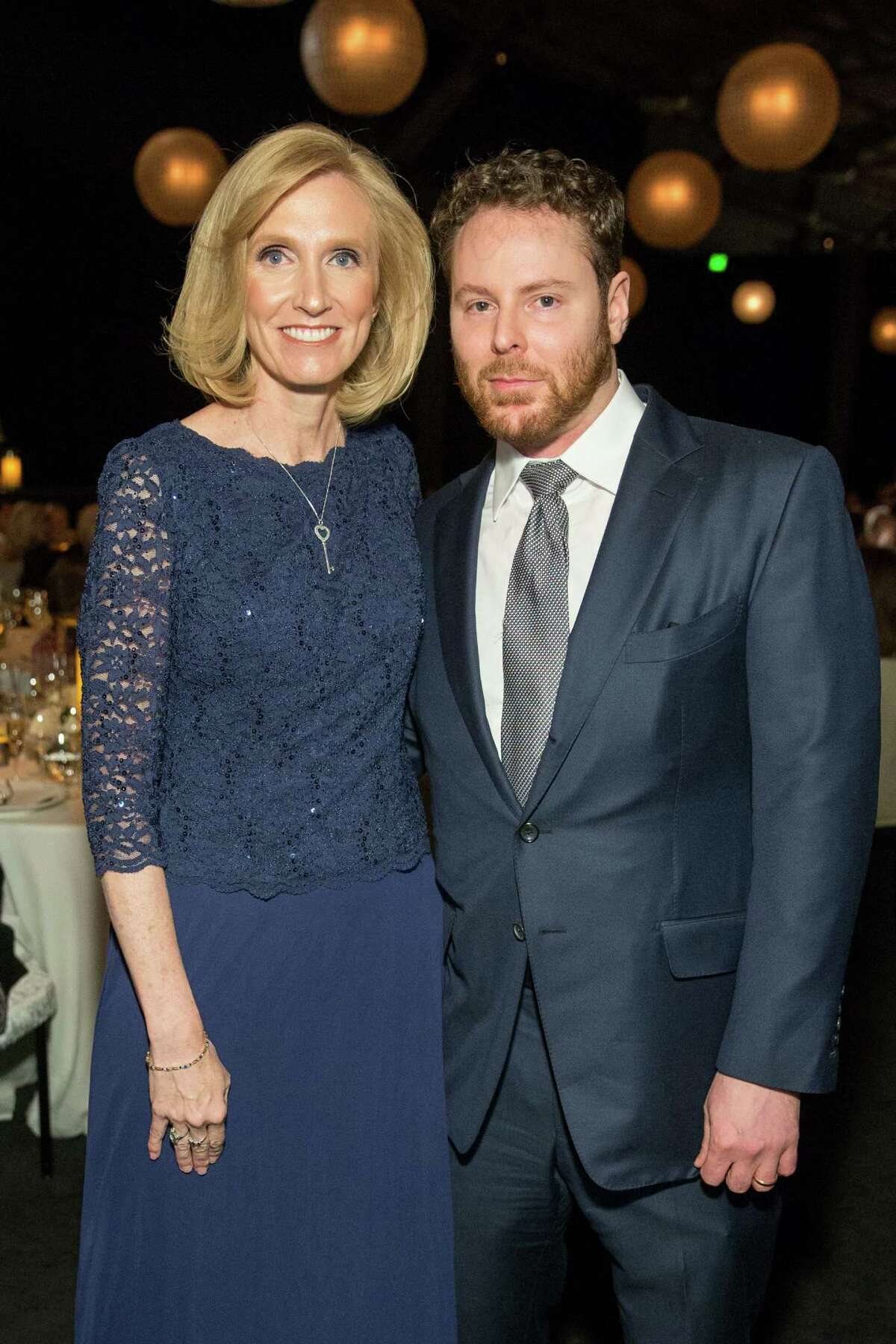The CPMC 2020 Gala sponsored by CHANEL was held at Pier 35 on February 24. It raised $2.5 million for Sutter Health's CPMC and Clinical trials for food allergies at CPMC. Shown are Kari Nadeau with Sean Parker, the honorary chair.