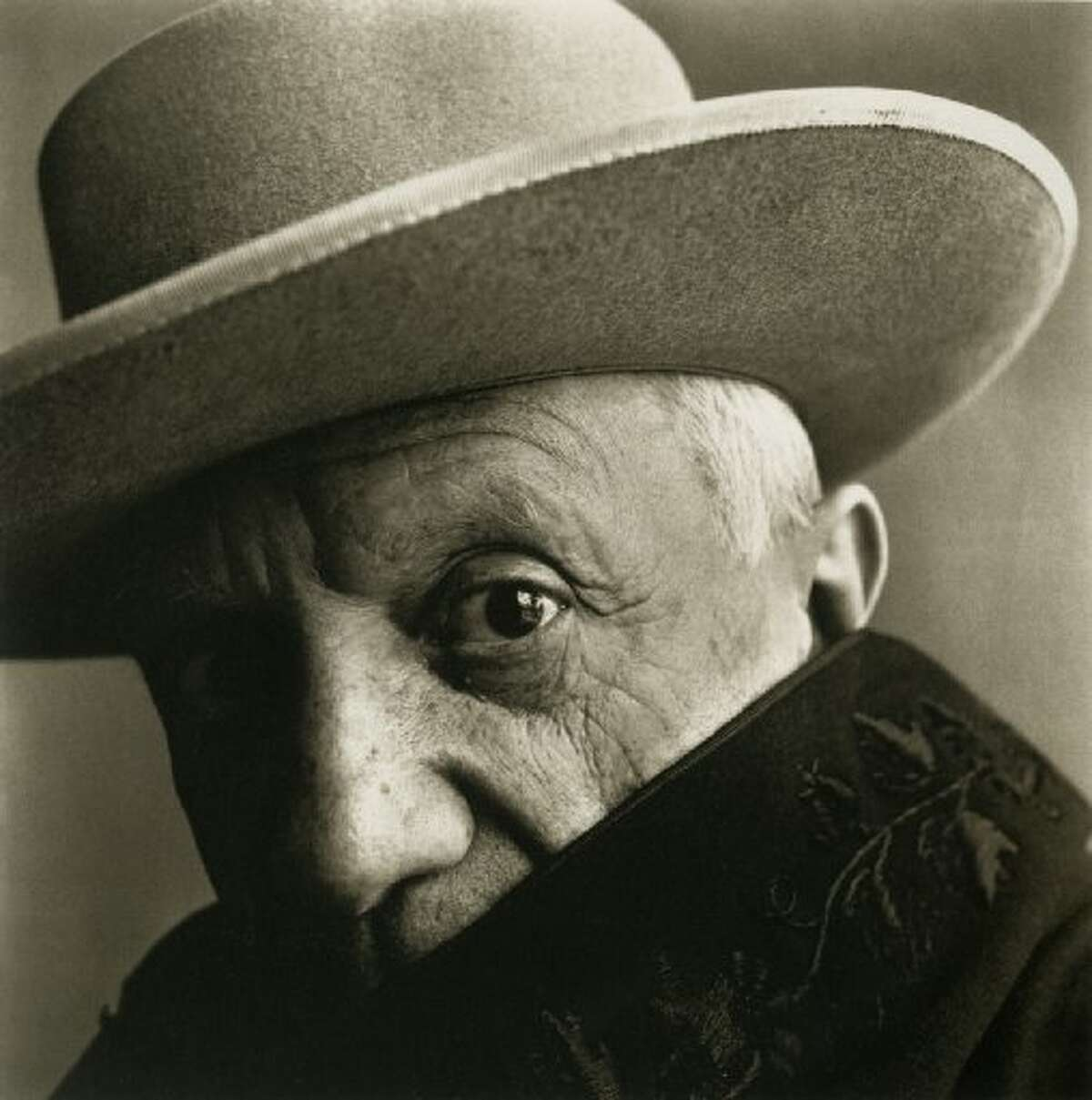 Irving Penn portrait of Picasso