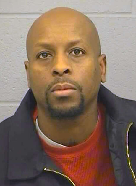 This booking photo released Friday, Feb. 26, 2016, by the Harvey County Sheriff's Office shows Cedric Ford. Authorities say, Ford, 38, who stormed into a Kansas factory on Thursday, Feb. 25, where he worked and shot several people, had just been served with a protective order that probably triggered the attack. (Harvey County Sheriff's Office via AP) Photo: HOGP / Harvey County Sheriff's Office