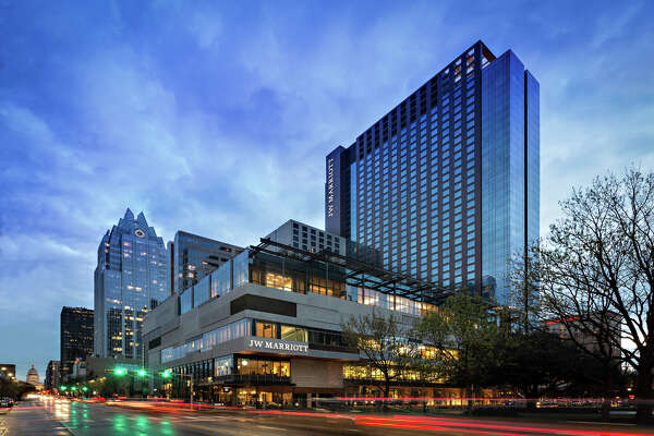 The 1,012-room JW Marriott Austin Downtown is one of Austin's largest hotels and one of the largest in the state to open in the last 10 years.