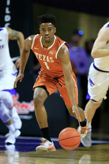 Texas guard Isaiah Taylor leads the team with 15.4 points and 5 assists per game. Photo: Orlin Wagner, STF / AP