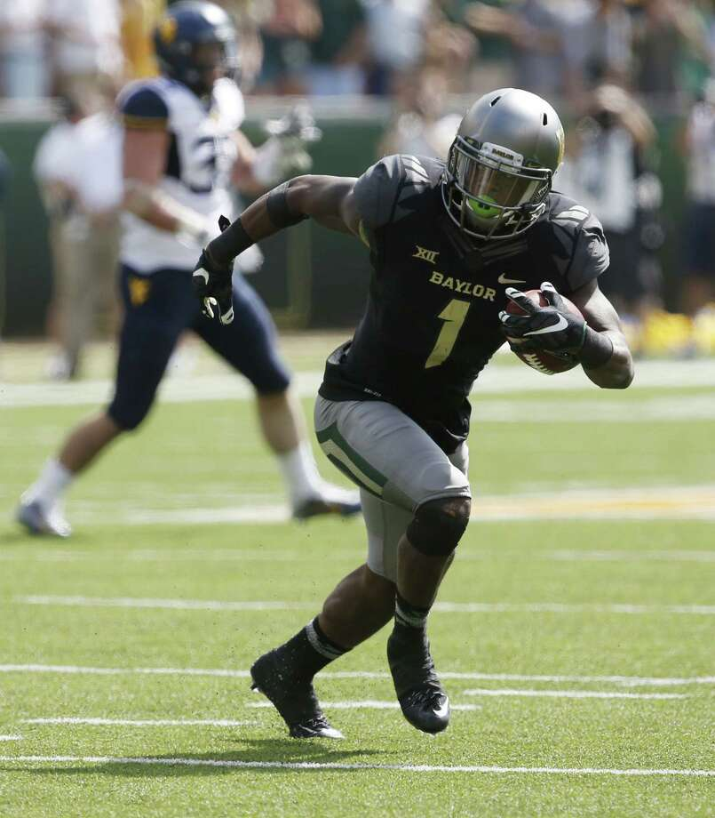 The Texans have kept a close watch on Baylor receiver Corey Coleman with an eye to perhaps drafting him as a complement to DeAndre Hopkins. Photo: Rod Aydelotte, FRE / FRE36102AP