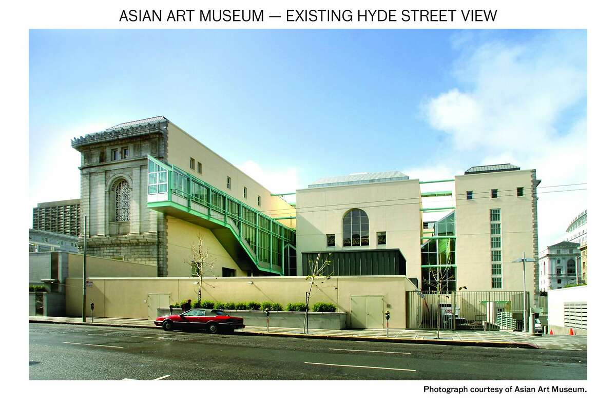The Asian Art Museum as it appears today, viewed from Hyde St.