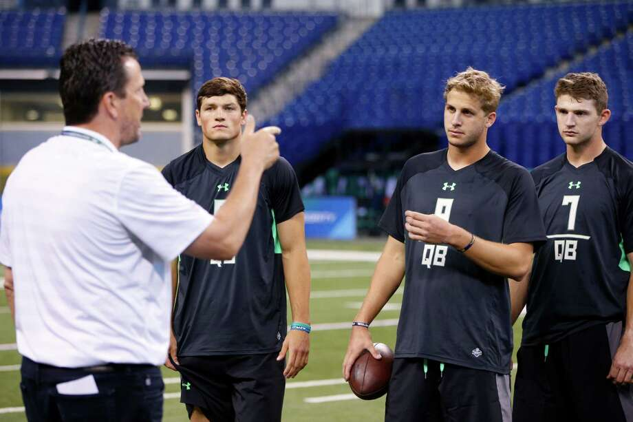 Quarterbacks often are the prime attraction at the NFL combine.Click through the gallery to see how the weekend affected the stock of the signal-callers in Indianapolis. Photo: Joe Robbins, Getty Images / 2016 Getty Images