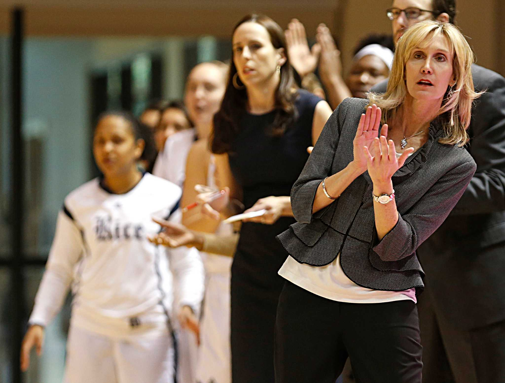 Rice women on doorstep of history ahead of WBI title game