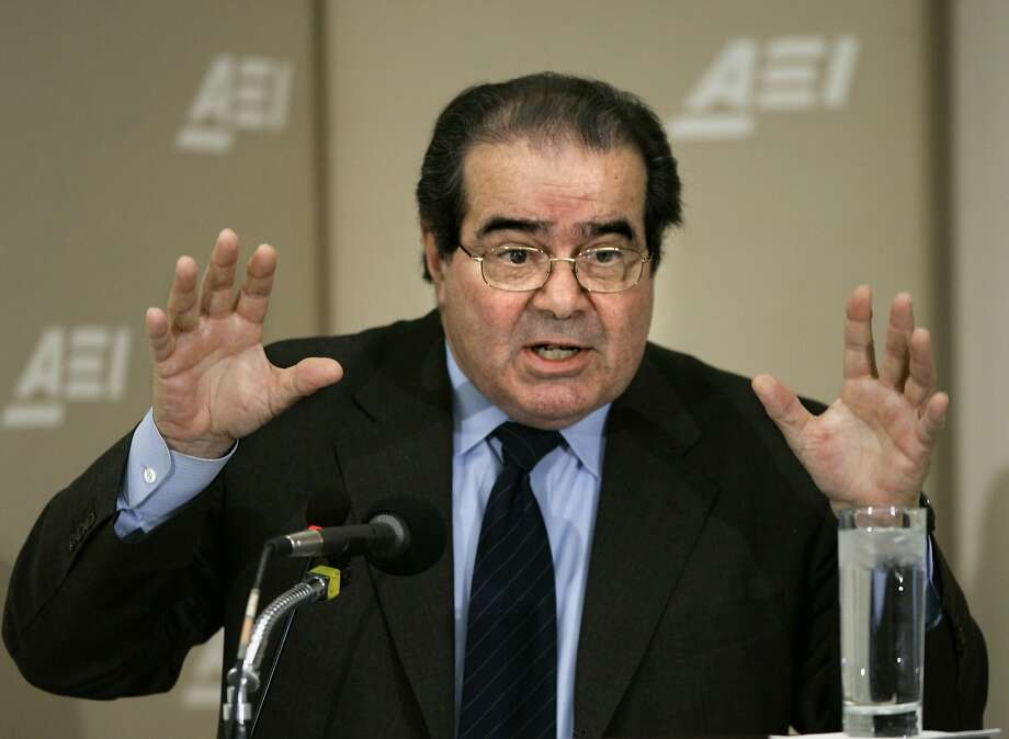 With Supreme Court Justice Antonin Scalia's death, his rulings for a five-justice majority could be rolled back by a newly composed court. Photo: J. Scott Applewhite, Associated Press
