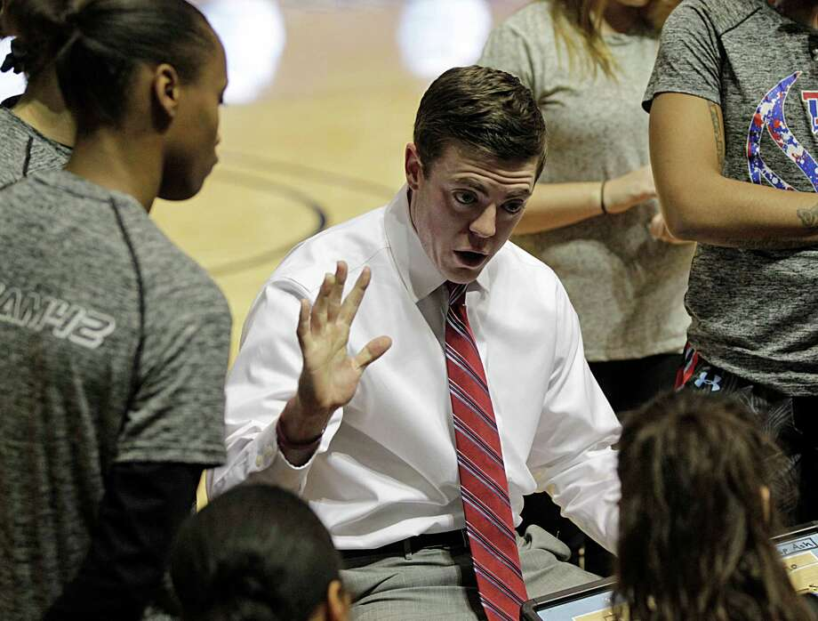 Attention has followed Tyler Summitt, son of legendary Tennessee coach Pat Summitt, since he became coach of the Louisiana Tech women's basketball team last year. Photo: James Nielsen, Staff / © 2016  Houston Chronicle