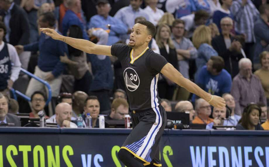 a9310786630f Stephen Curry hits unreal shot to take Thunder down in OT - San ...
