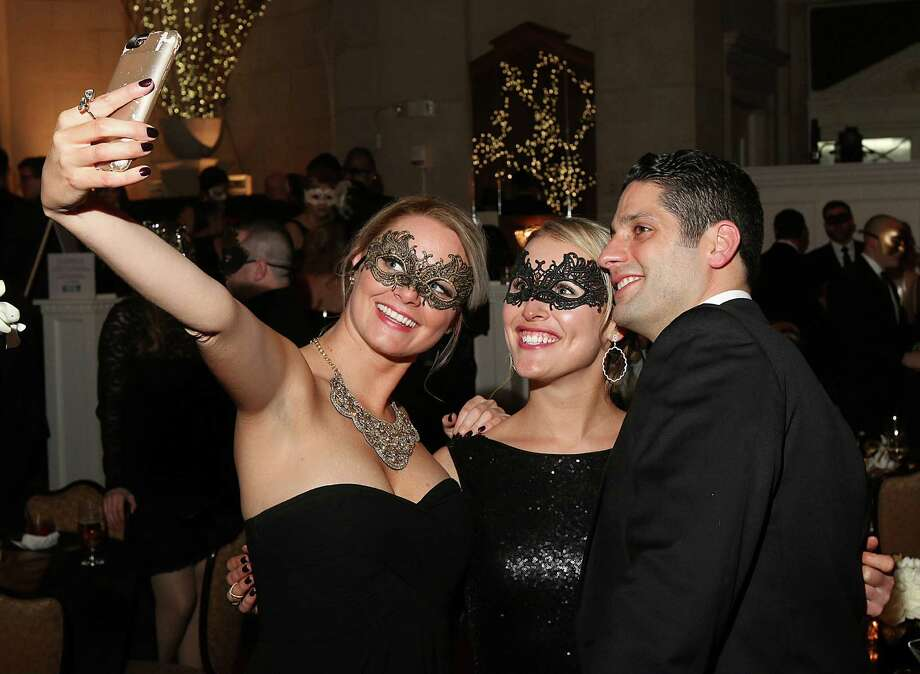 Were you Seen at the annual SPAC Winter Ball, themed the Party of the Century, A Black & Gold Masked Ball, in honor of SPAC's 50th anniversary season, at the Hall of Springs in Saratoga Springs on Saturday, Feb. 27, 2016? Photo: Joe Putrock/Special To The Times Union