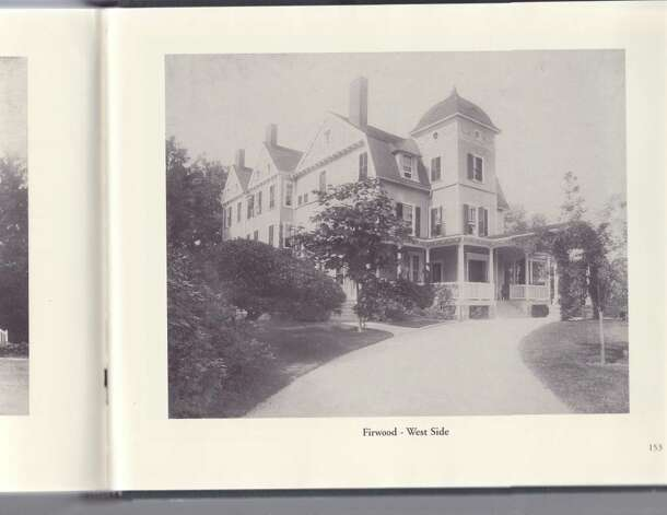 This photo shows a view of the West side of Firwood Mansion in 1890, after the renovations. Photo: Contributed Photo / Darien News