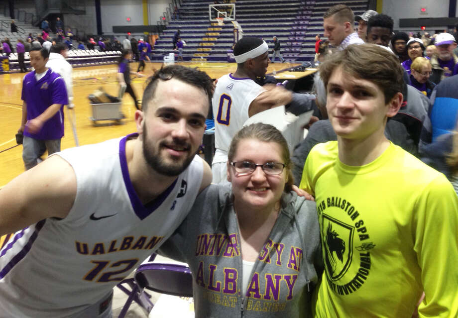 Were you Seen at the UAlbany vs. Hartford basketball game at SEFCU Arena at UAlbany on Saturday, Feb. 27, 2016? Photo: Michael Huber