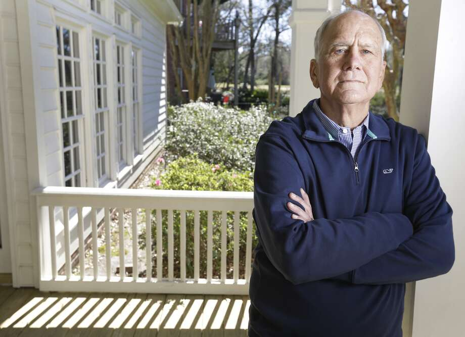 Craig Mason poses at his home Wednesday, Feb. 24, 2016, in The Wooldands. He is a former city consultant who advised officials on the pension problem. ( Melissa Phillip / Houston Chronicle ) Photo: Melissa Phillip, Houston Chronicle