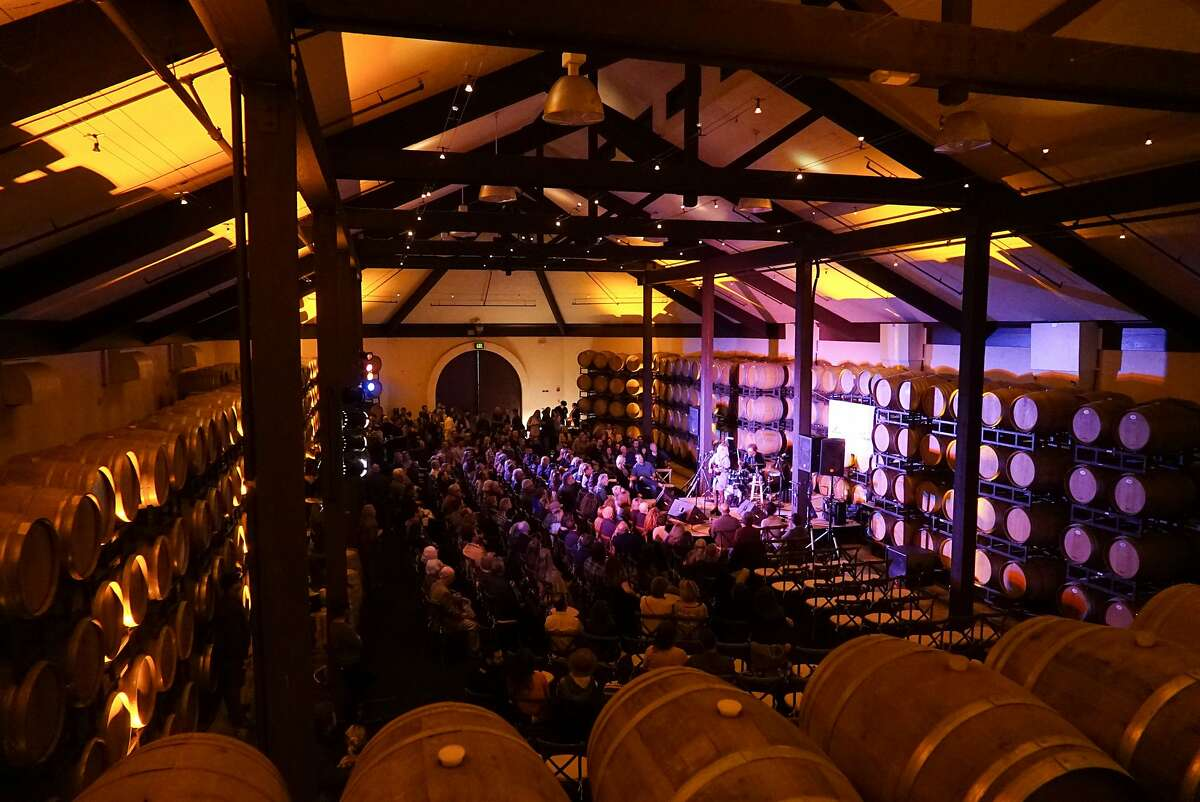 Aoife O'Donovan performs at Folktale Winery in Carmel, Calif. on Saturday, February 28, 2016. Folktale Winery hosts tastings and concerts.