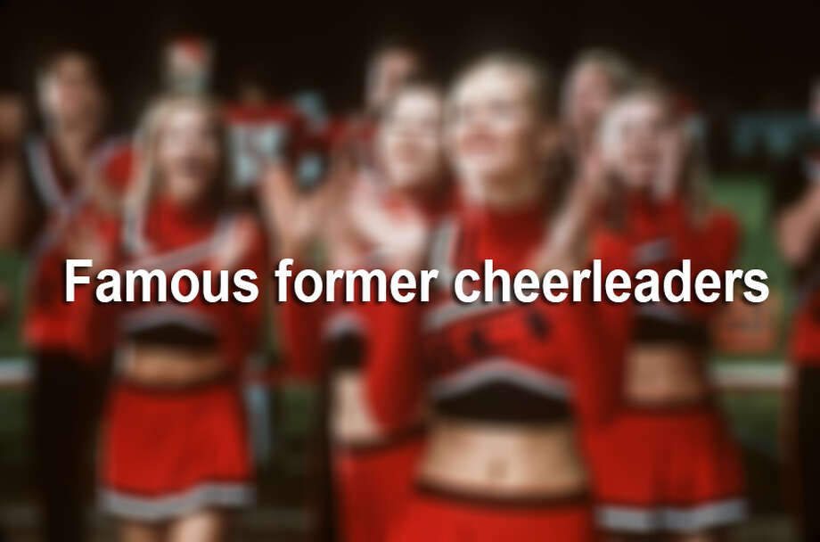 Here's a look at some celebs who shook it as cheerleaders in their past life. Photo: File