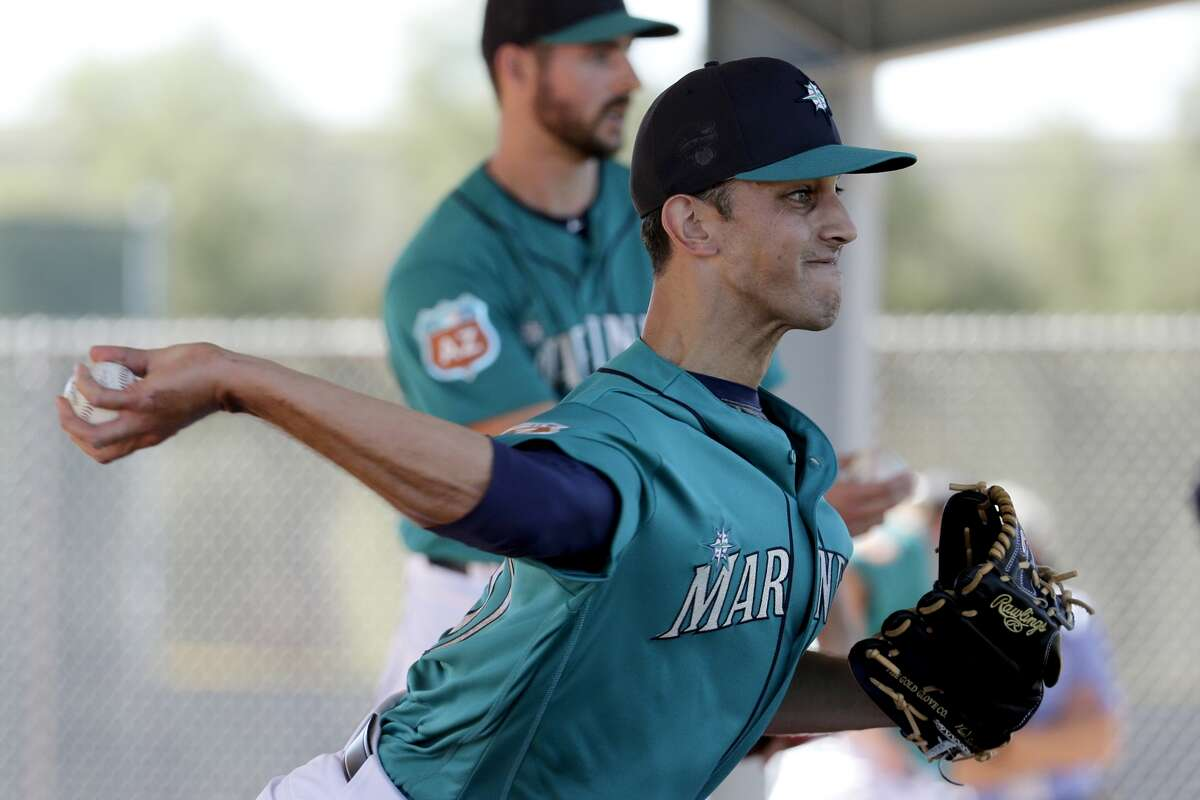 1. The closer situation  The Mariners signed Steve Cishek this past December to become the new closer. Cishek, 29, was one of the premier relievers in baseball for the Marlins in 2013-14, racking up a combined 73 saves, but last year the right-hander had control problems and lost his confidence, then was demoted. In July, he was traded to St. Louis, where he finished the year pitching well in a setup role. Though he's thrown well this spring, it remains to be seen if he can regain the form he showed before taking a step back last season. (AP Photo/Charlie Riedel)